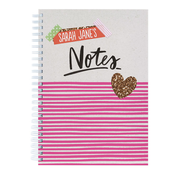 Personalised Notebook - Notes