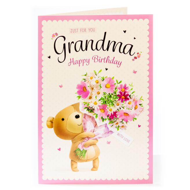 Giant Birthday Card - For You Grandma