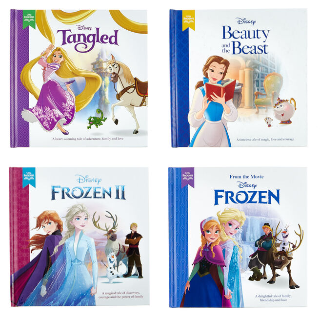 Little Readers Disney Princess Books - Set Of 4
