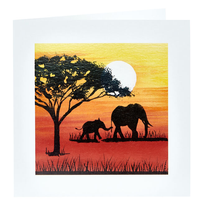 Any Occasion Card - Elephants