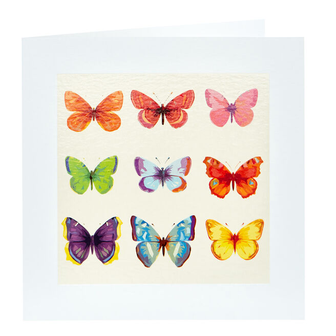 Any Occasion Card - Butterflies