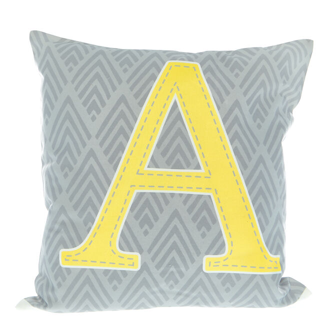 Personalised Cushion - Baby Initial