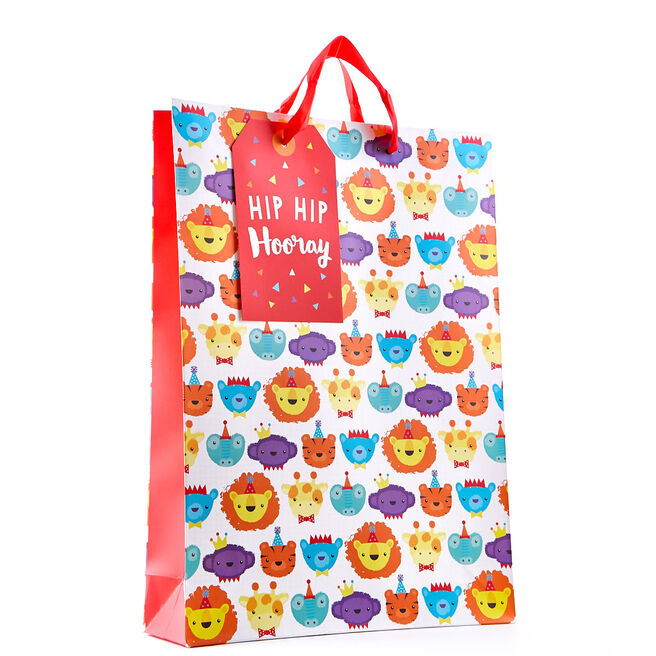 Extra Large Party Animals Gift Bag