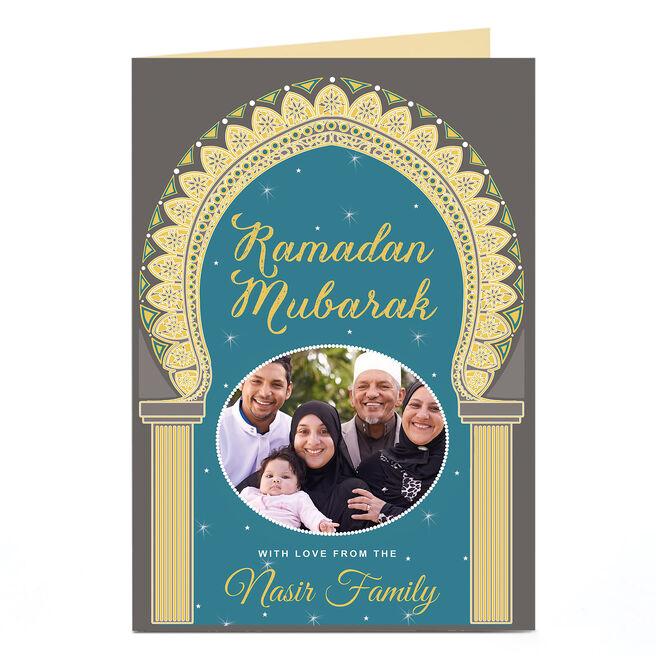 Ramadan Photo Card - Ramadan Mubarak