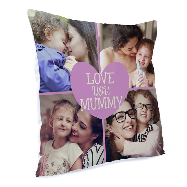 Multi Photo Love You Cushion