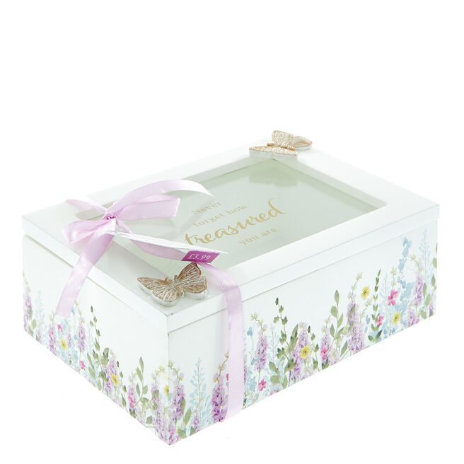 Never Forget How Treasured You Are Mum Jewellery Box