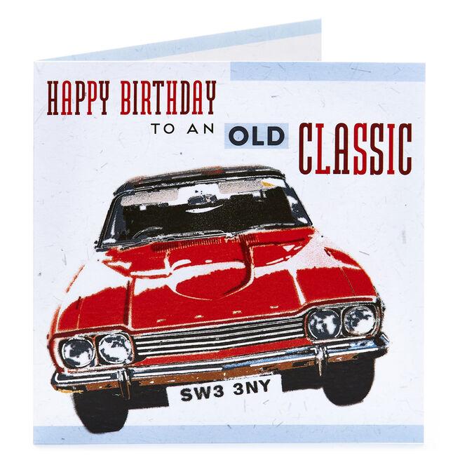 Birthday Card - An Old Classic