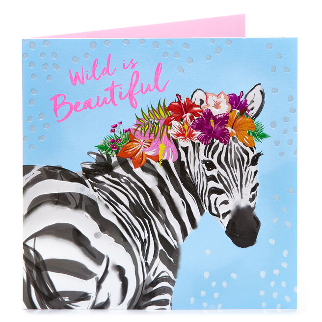 Any Occasion Card - Wild Is Beautiful