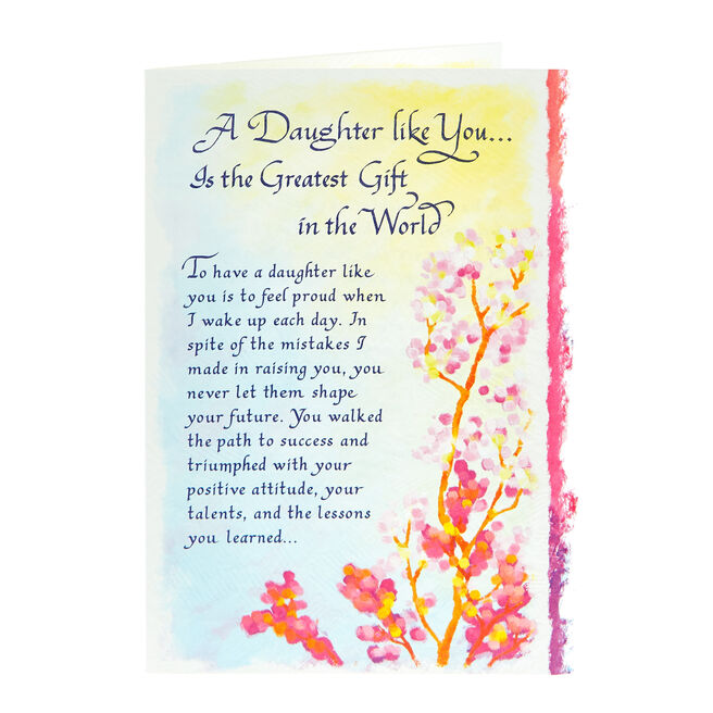 Blue Mountain Arts Card - A Daughter Like You