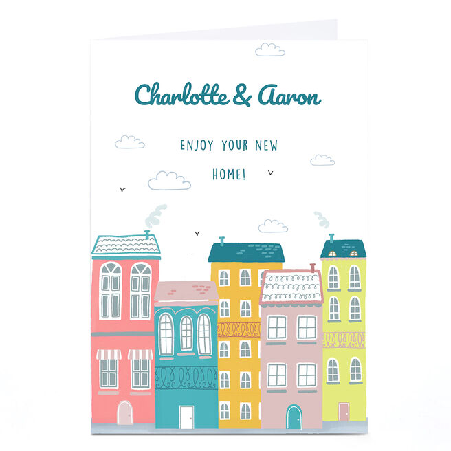 Personalised New Home Card - Enjoy Your New Home