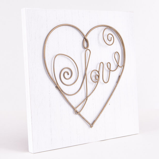 Love Wooden Wall Art