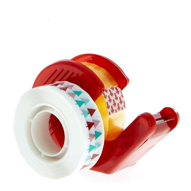 Christmas Tape & Tape Dispenser