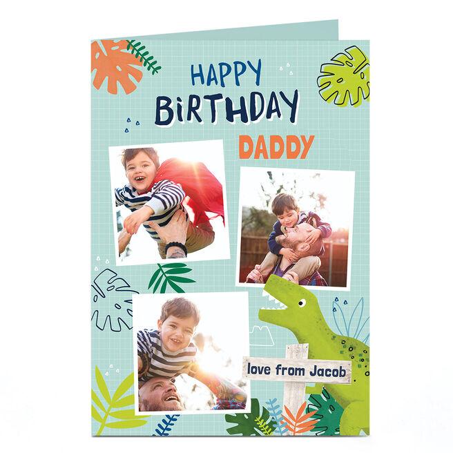 Personalised Birthday Photo Card - Happy Birthday