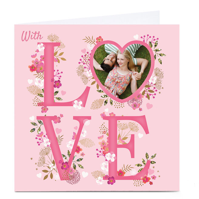 Photo Kerry Spurling Any Occasion Card - Love