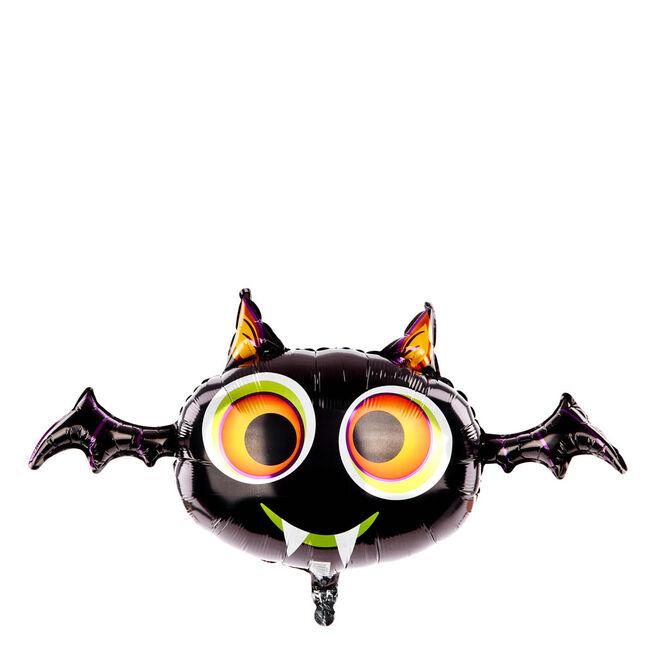 Large Halloween Bat Helium Balloon (deflated)
