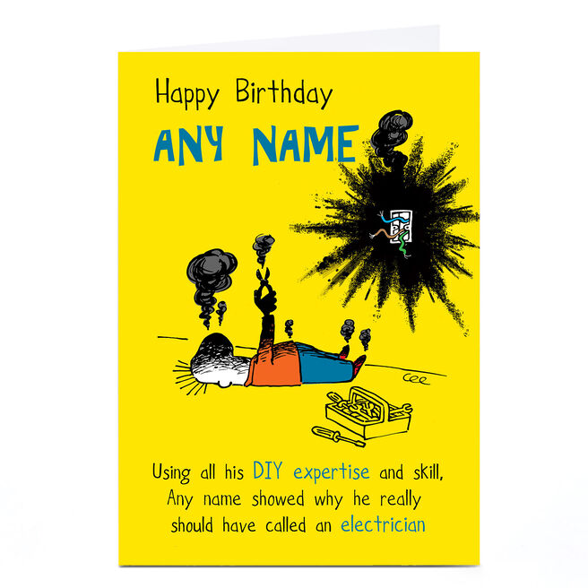 Personalised Birthday Card - DIY Expertise