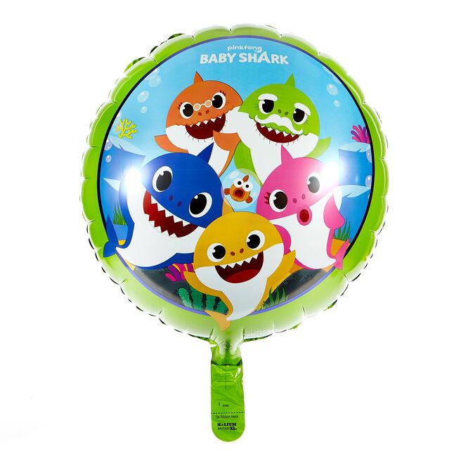 Baby Shark 17-Inch Foil Helium Balloon