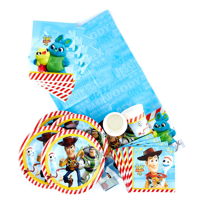 Toy Story 4 Party Tableware Bundle - 91 Pieces