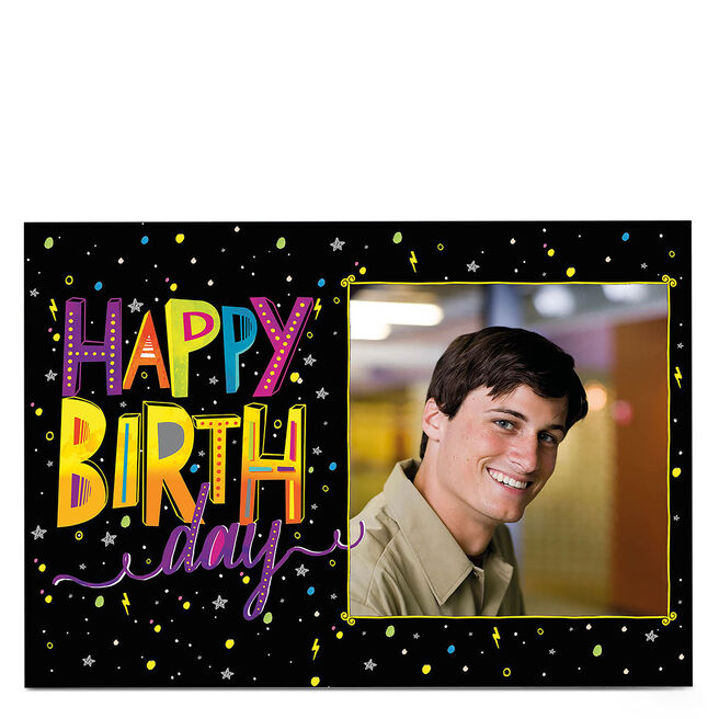 Photo Birthday Card - Out Of This World