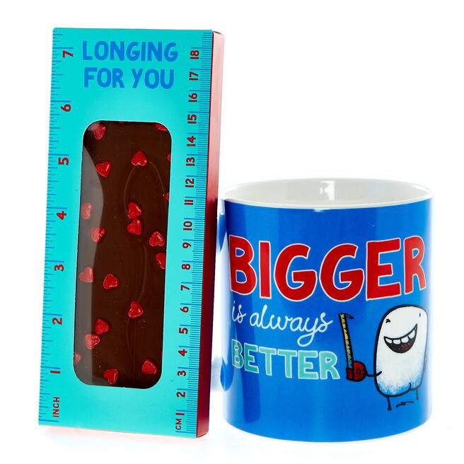 Love Bites Giant Mug & Chocolate Bar