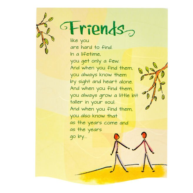 Blue Mountain Arts Card - Friends Like You