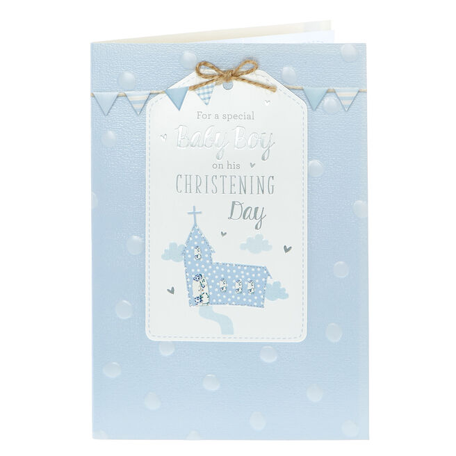 Christening Card - Special Baby Boy