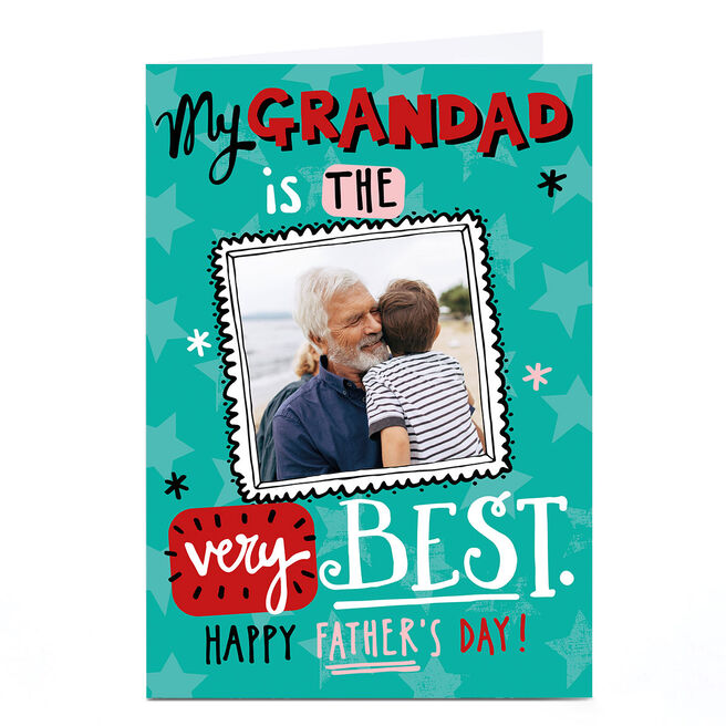 Photo Bev Hopwood Father's Day Card - Grandad, The Very Best