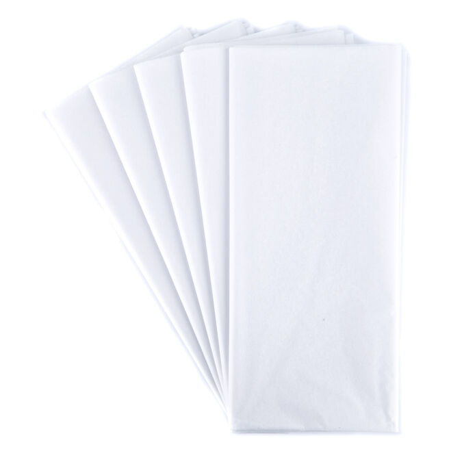 White Tissue Paper - 10 Sheets
