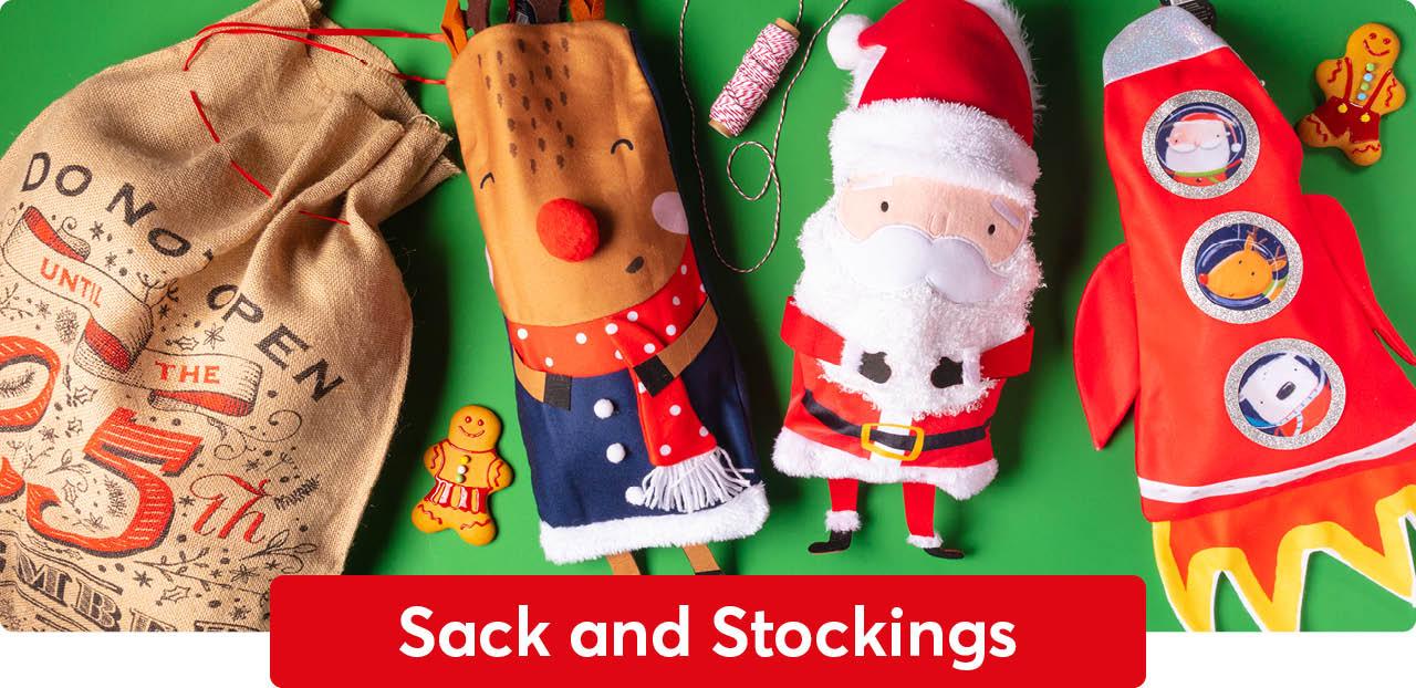 sacks and stockings