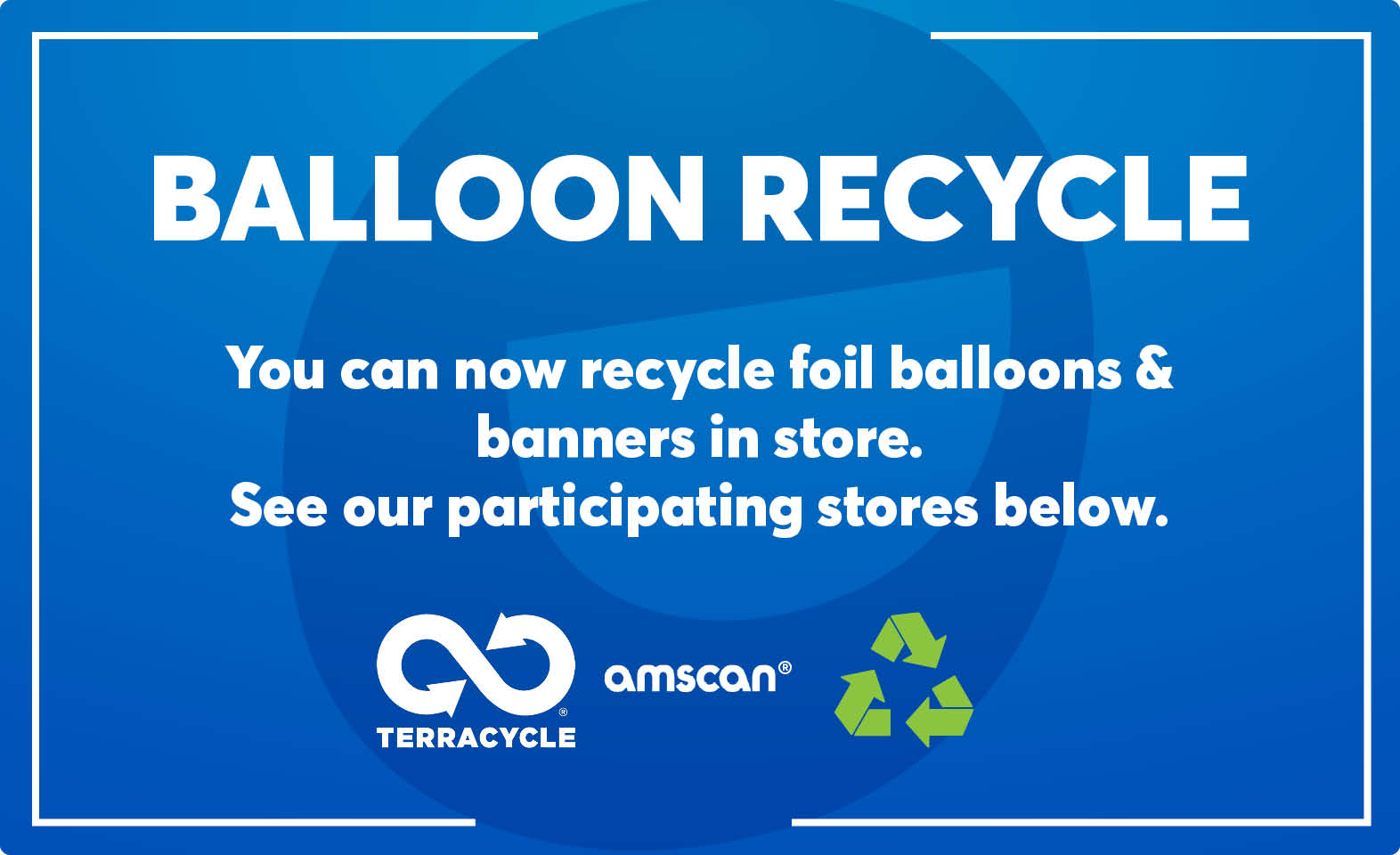 Balloon Recycling