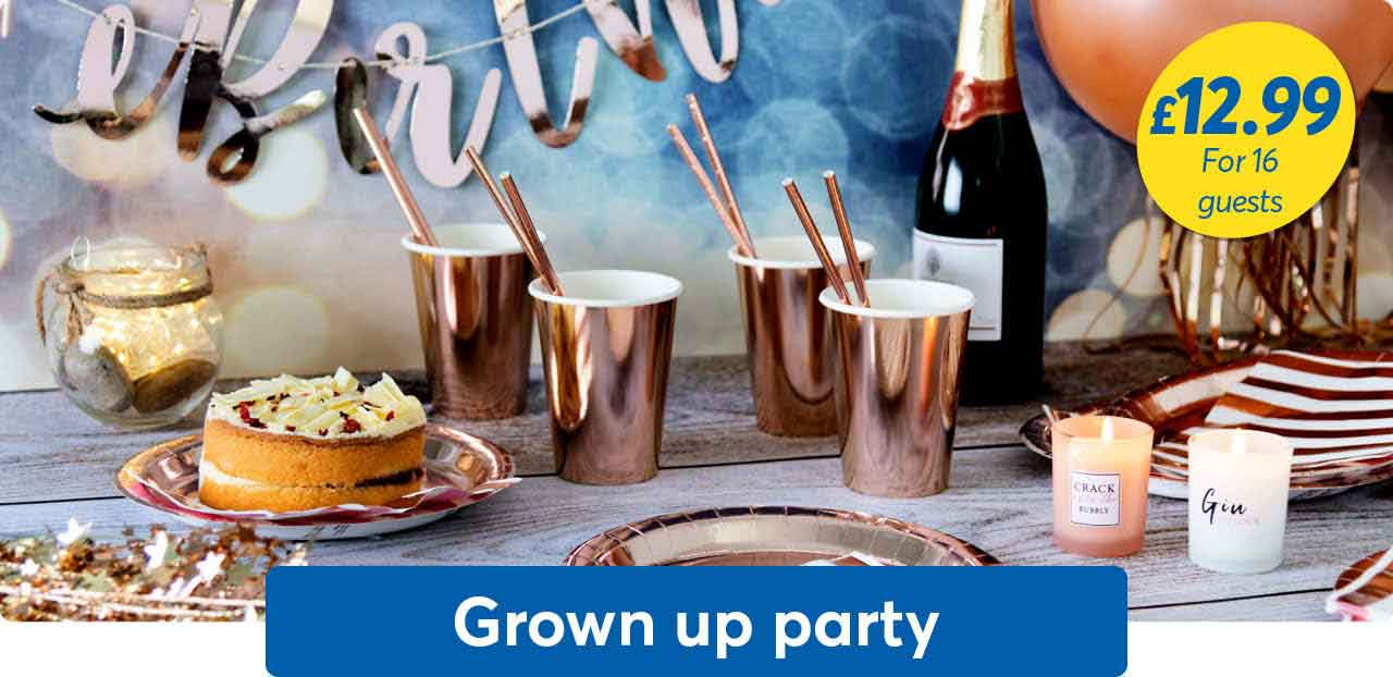 Grown up party