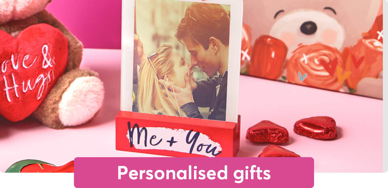 Valentine's Day personalised gifts