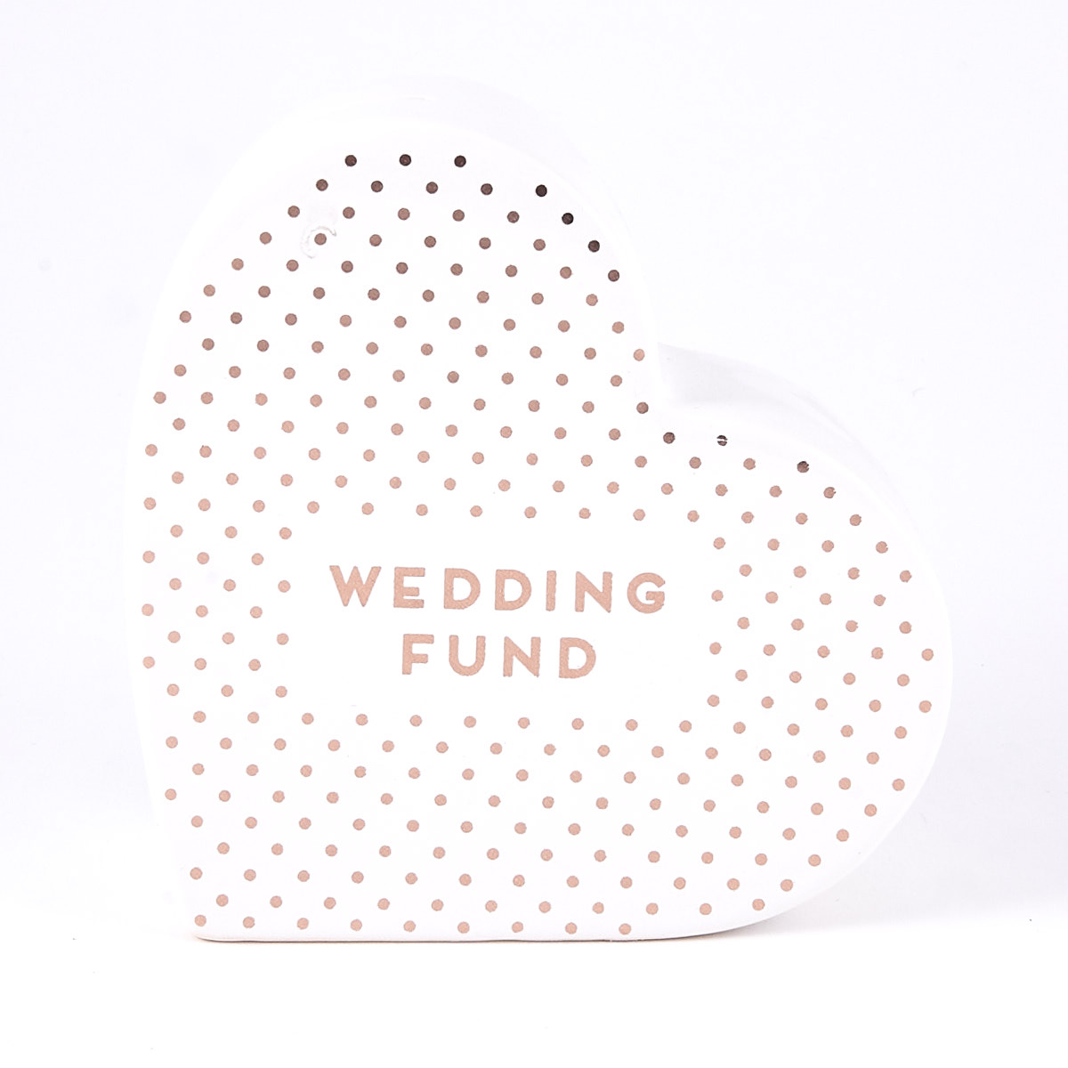 Buy Wedding Fund Money Box Heart For Gbp 2 99 Card Factory Uk