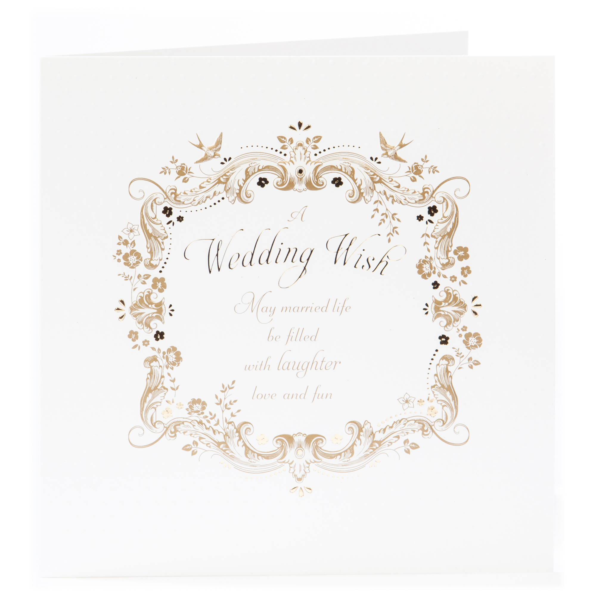 Platinum Collection Wedding Card - Married Life