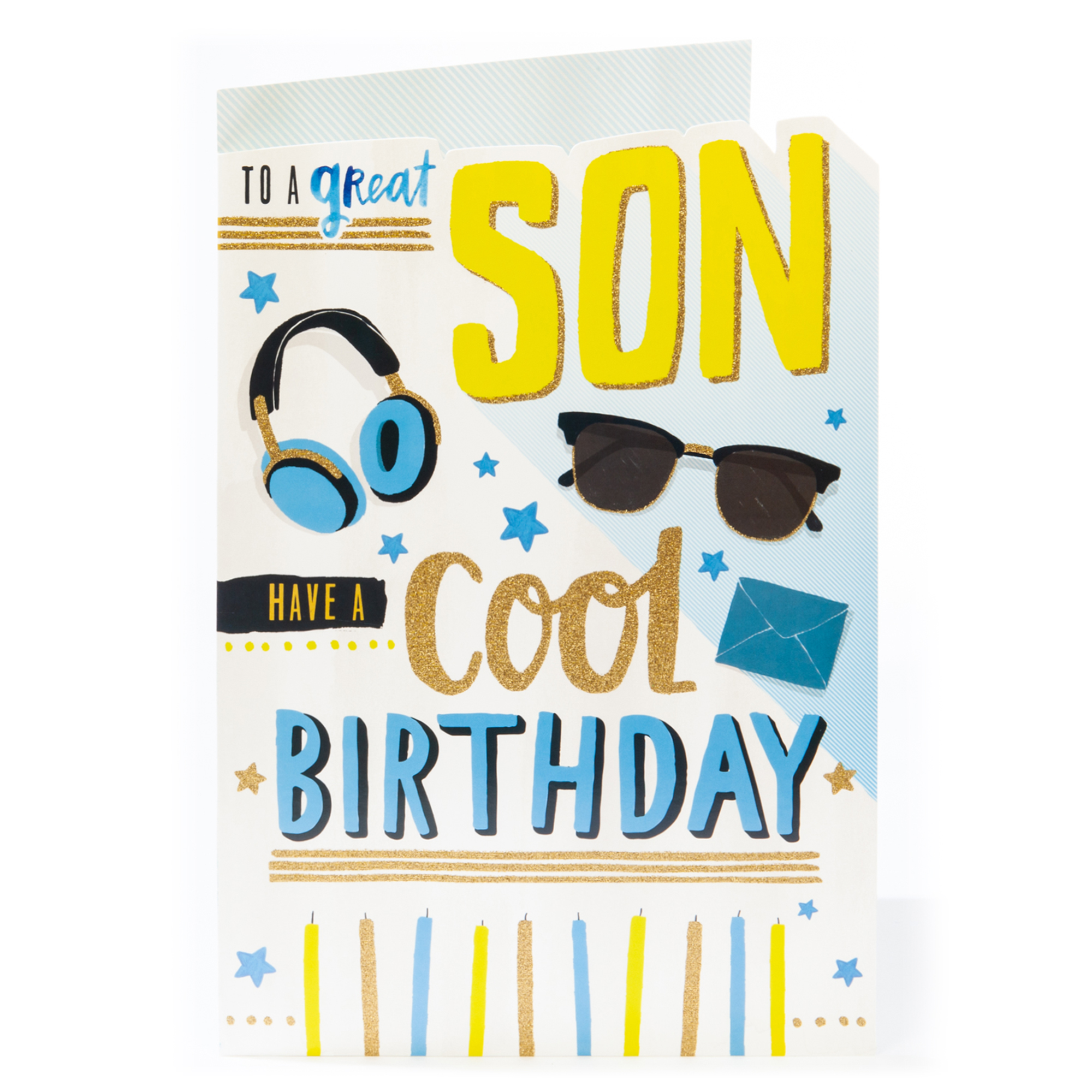 Giant Birthday Card - To A Great Son
