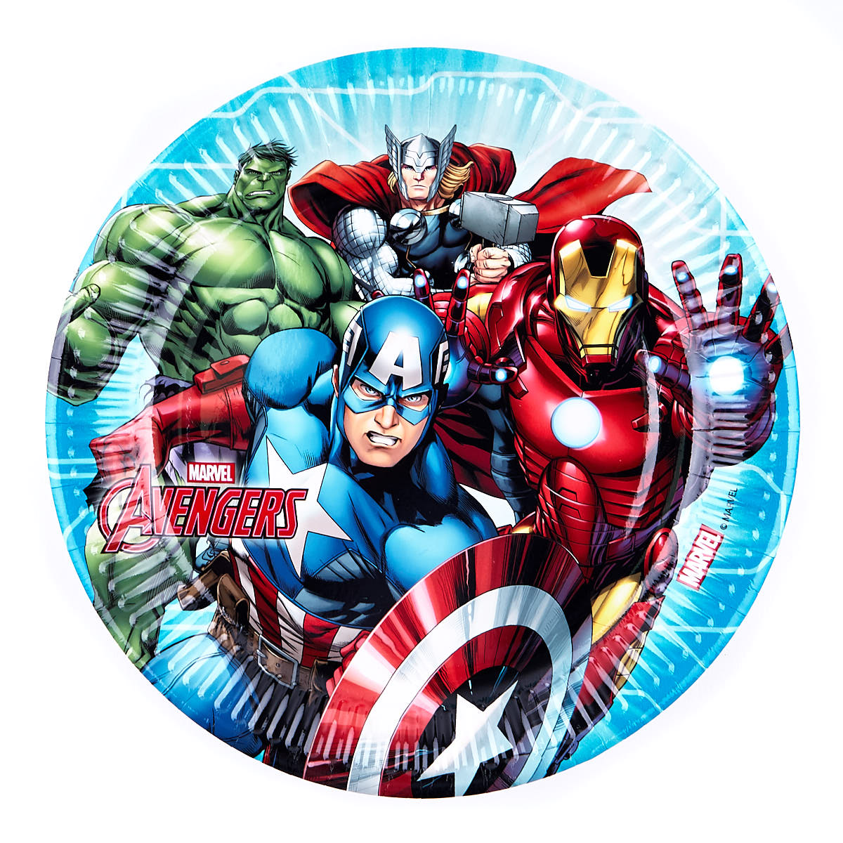 Marvel Avengers Party Tableware Bundle - 91 Pieces