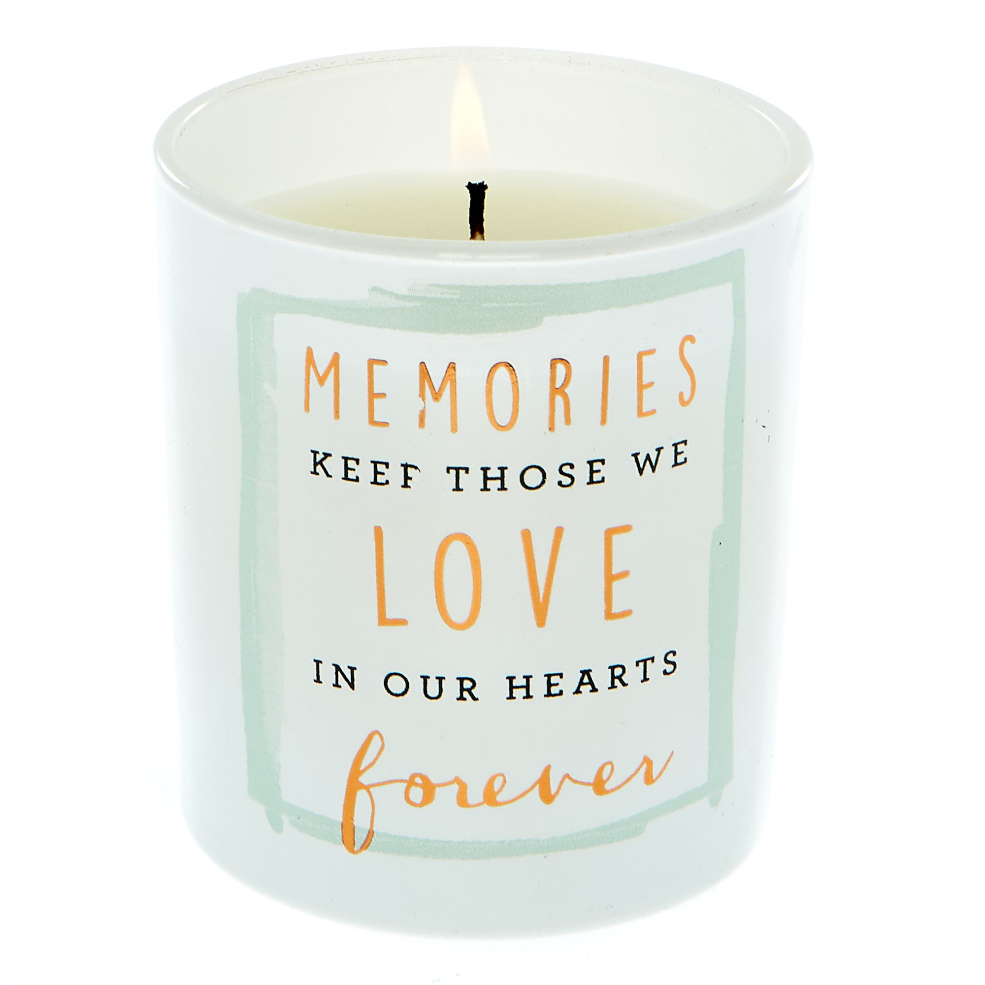 Buy In Our Hearts Forever Vanilla Scented Candle For Gbp 1 99 Card Factory Uk