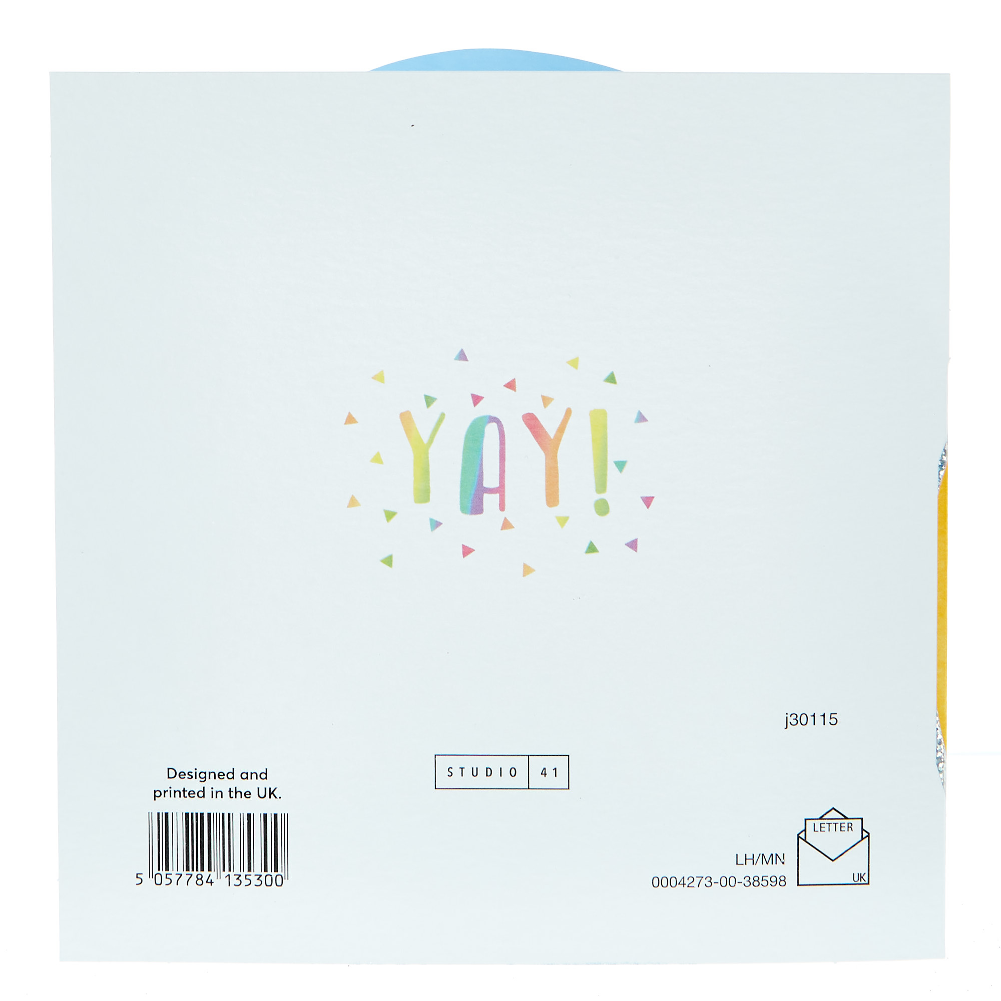 Any Occasion Card - Party Rainbow