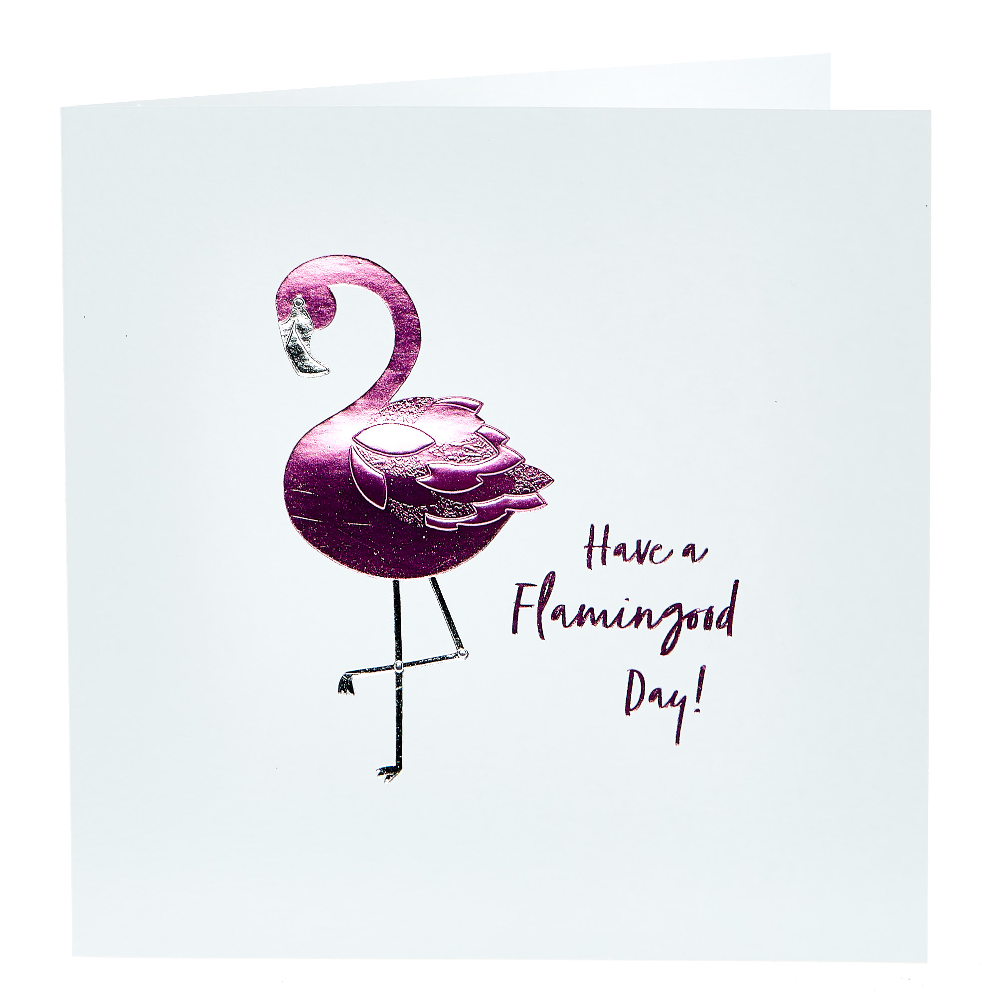 Birthday Card - Flamingood Day!