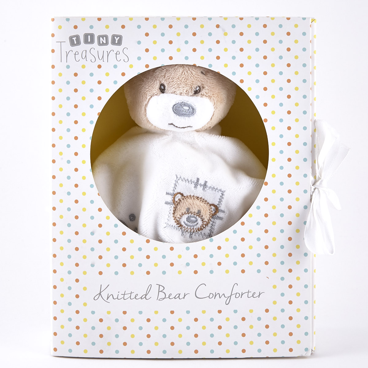 Tiny Treasures Plush Baby Comforter in Gift Box