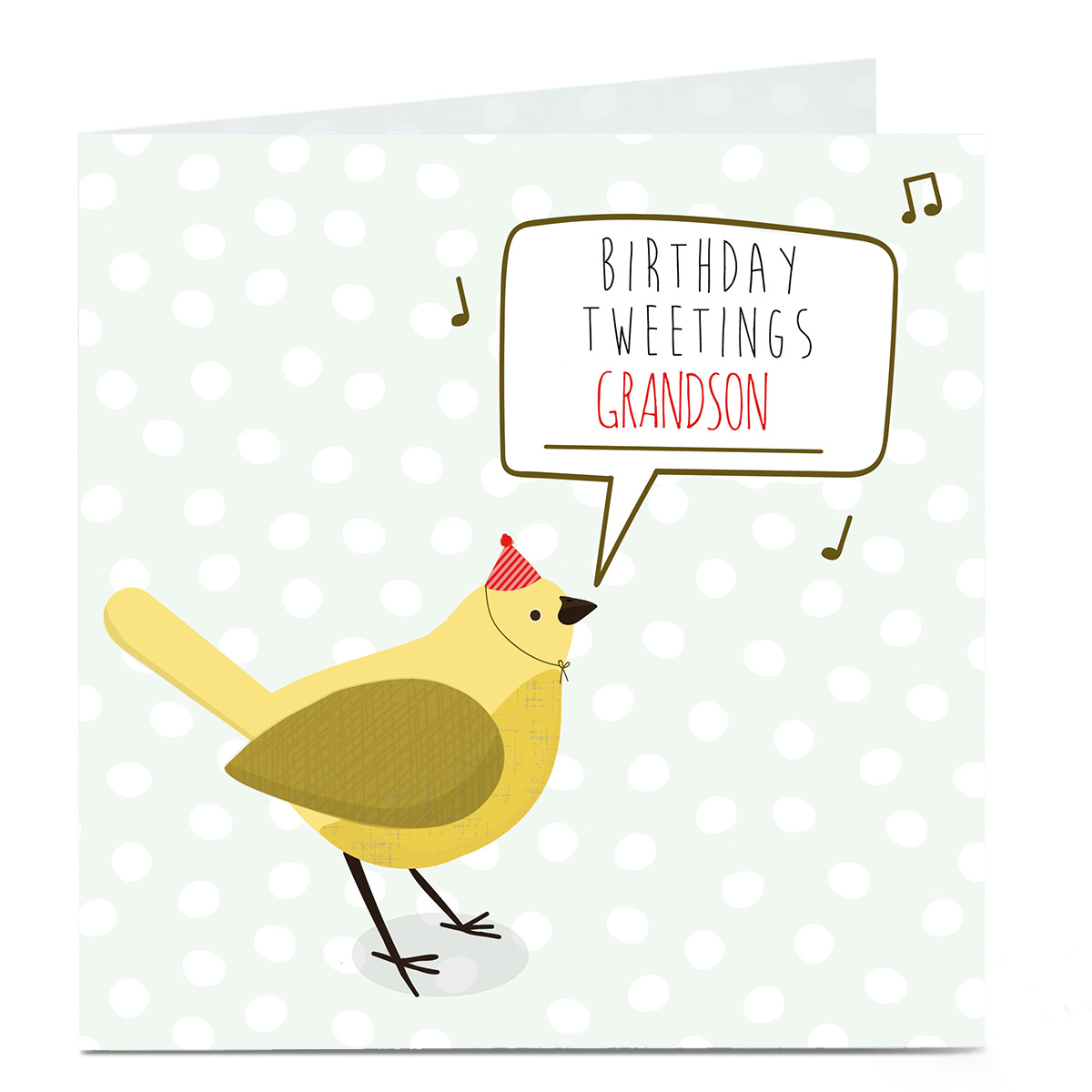 Personalised Birthday Card - Birthday Tweetings [Any recipient]