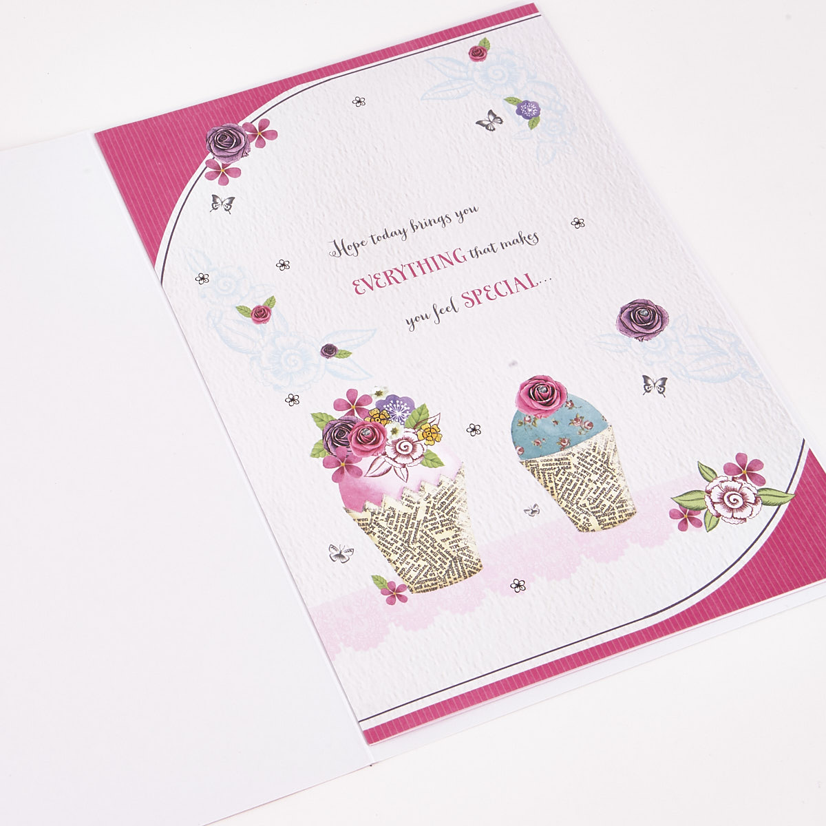 Signature Collection Birthday Card - Mam Cakes