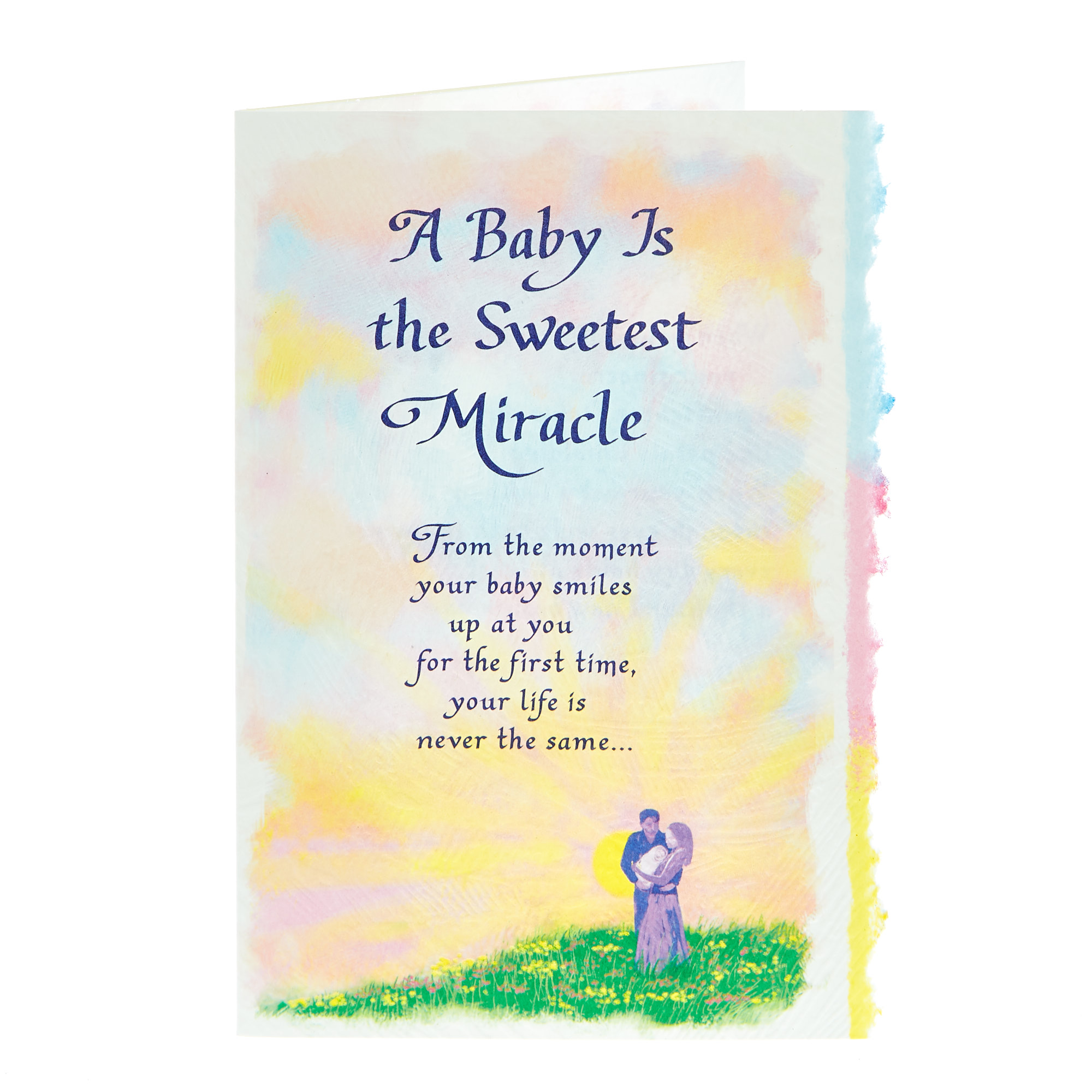 Blue Mountain Arts Card - A Baby Is The Sweetest Miracle