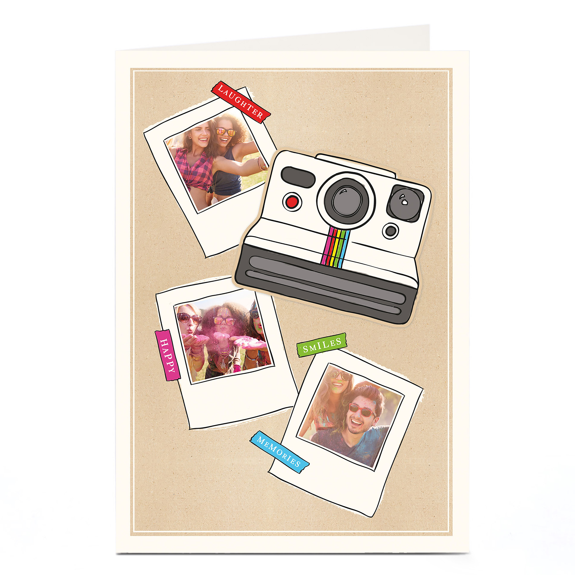 Photo Card - Polaroid Camera