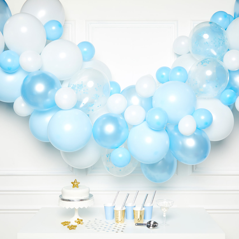 Buy Diy Balloon Garland Kit Blue For Gbp 14 99 Card Factory Uk