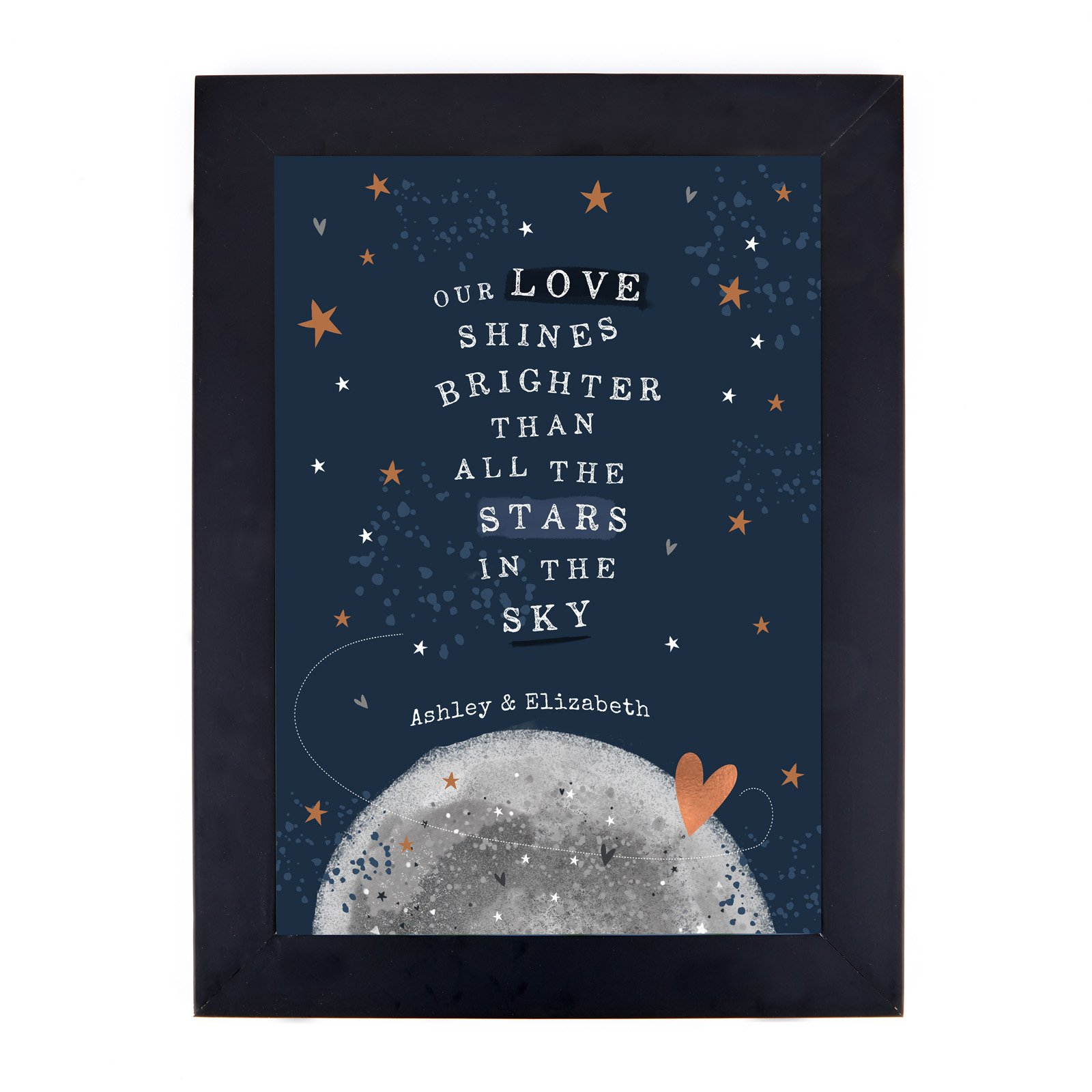Personalised Print - Stars In The Sky