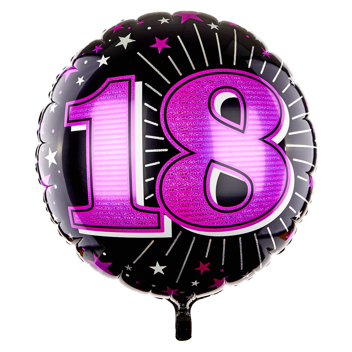 31 Inch 18th Birthday Helium Balloon - Pink