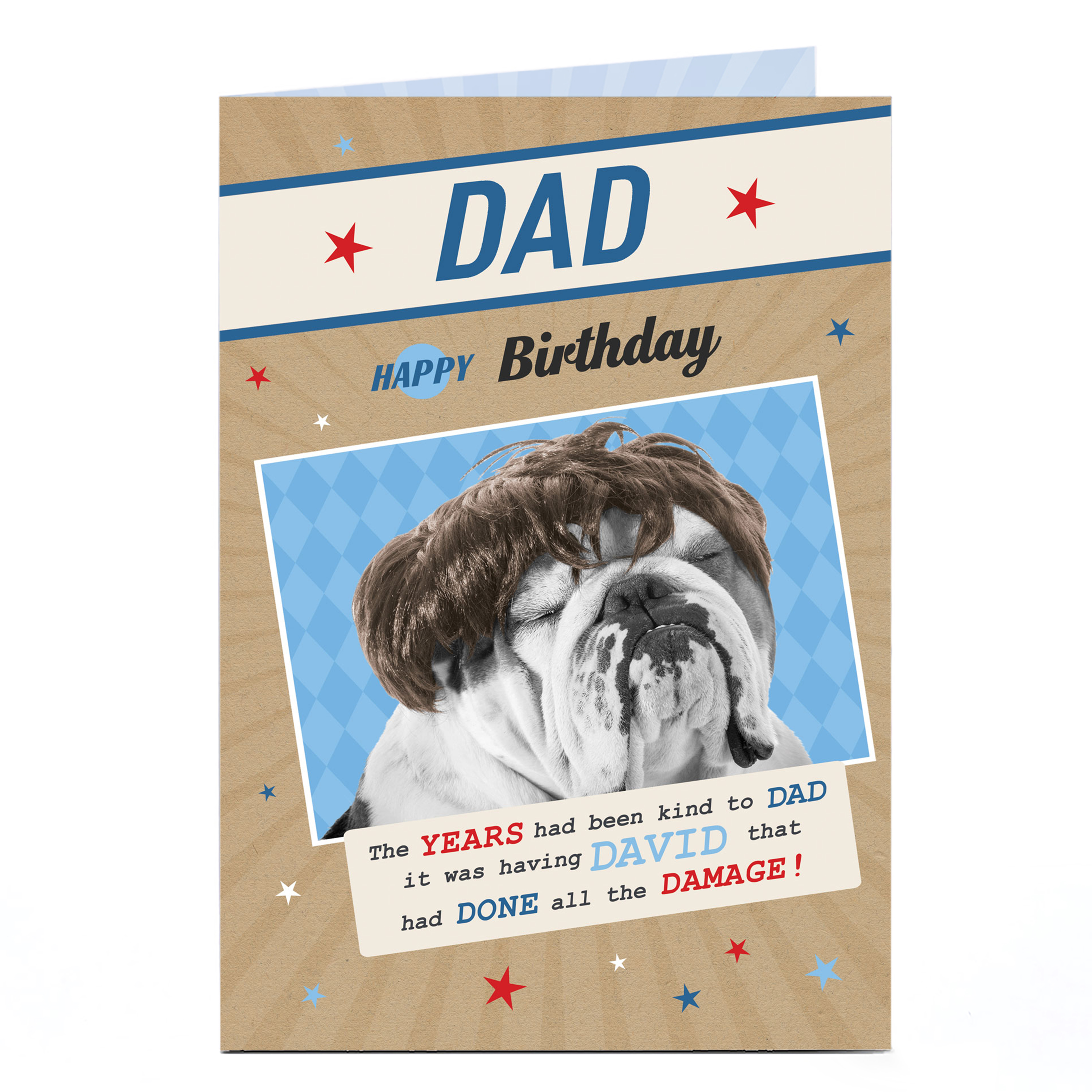 Personalised Birthday Card - The Years Have Been kind