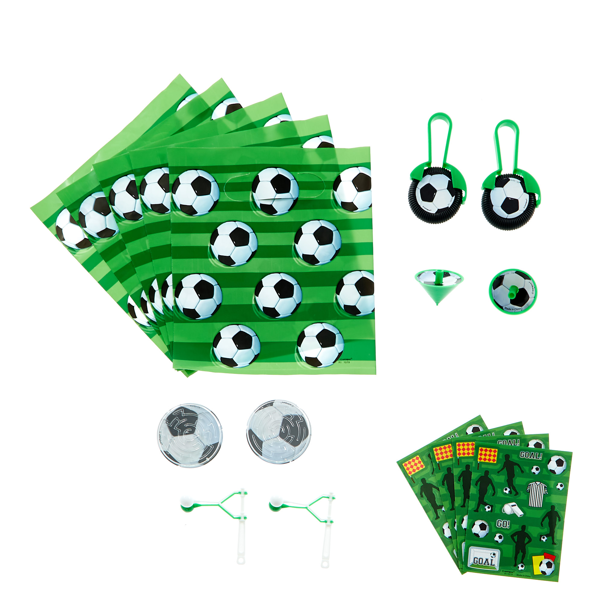Football Themed Party Favour Pack - 48 Pieces