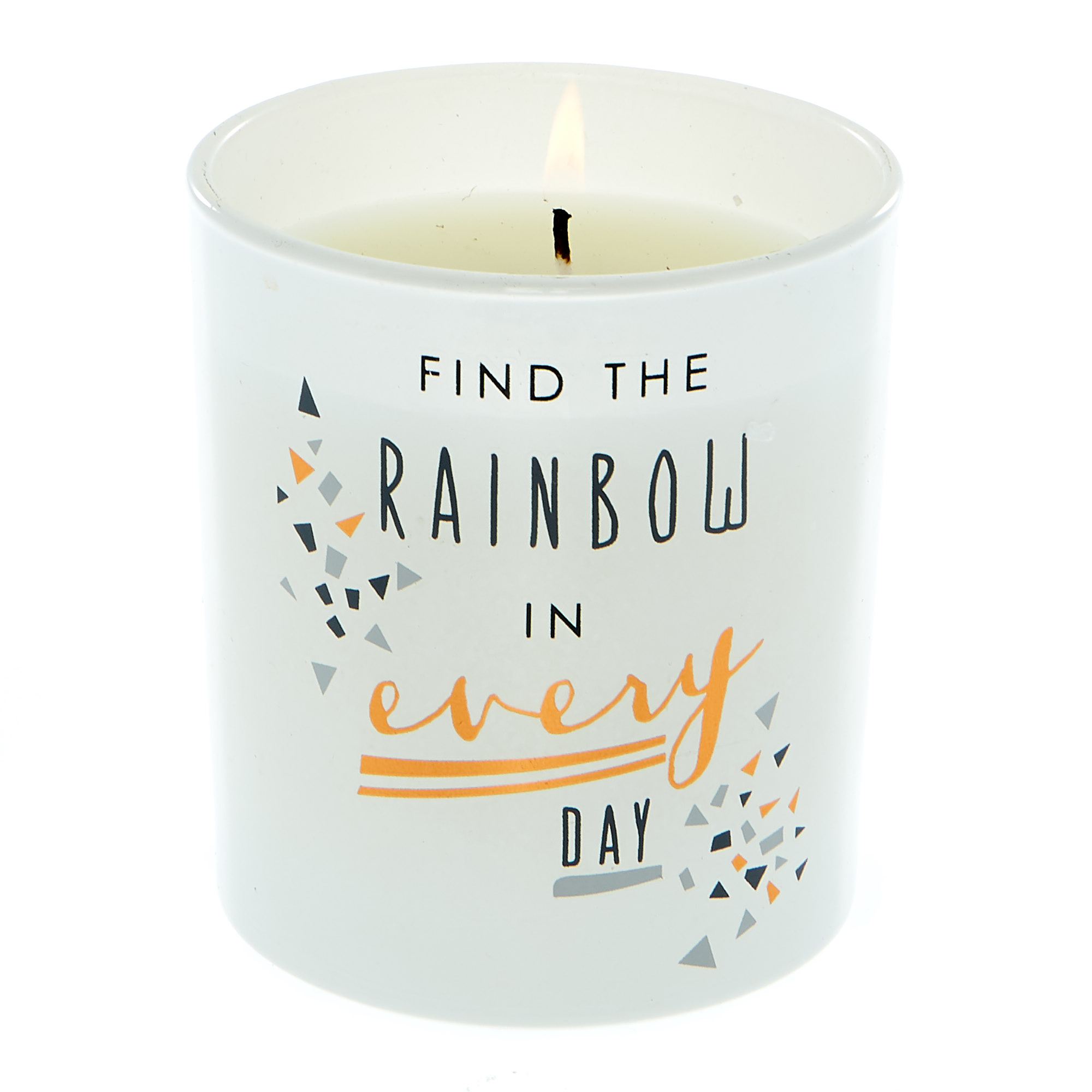 Buy Find The Rainbow Vanilla Scented Candle For Gbp 1 99 Card Factory Uk
